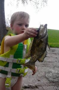 Zion with a hungry rock bass