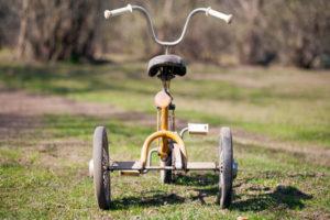 42297292 - vintage kids tricycle
